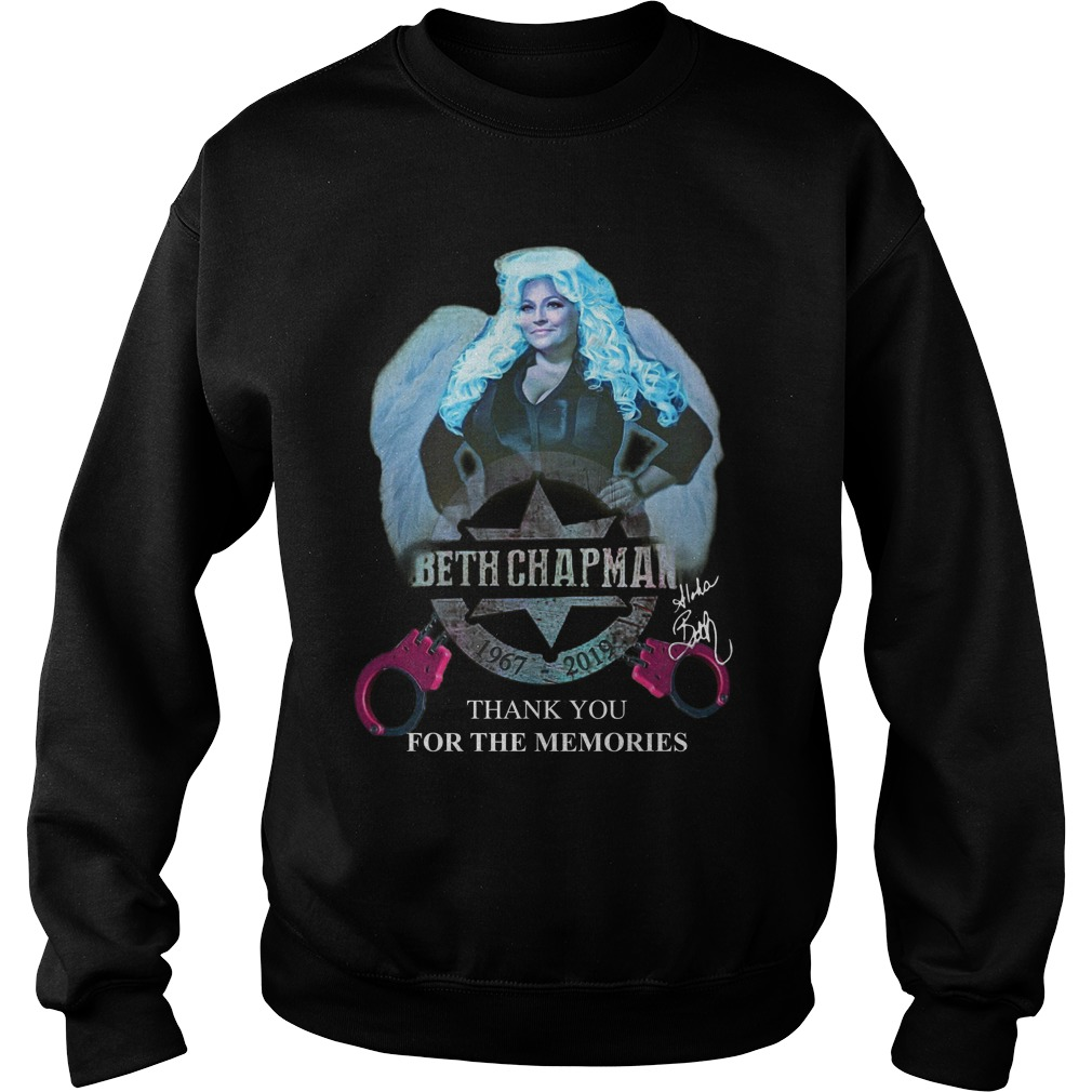 Beth Chapman 1967 2019 Thank You For The Memories Sweater