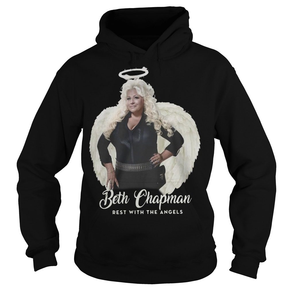 Beth Chapman Rest With The Angels Hoodie