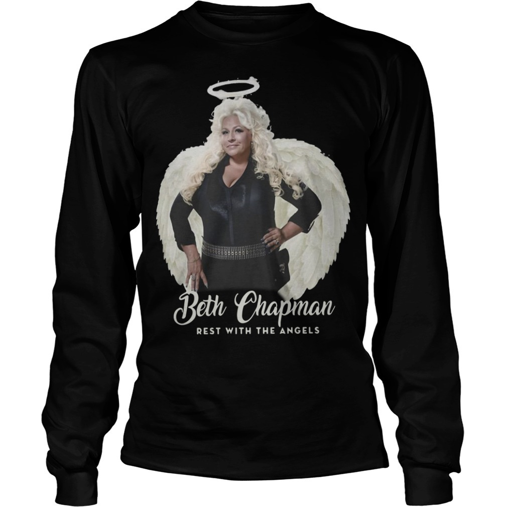 Beth Chapman Rest With The Angels Long SLeeve Tee