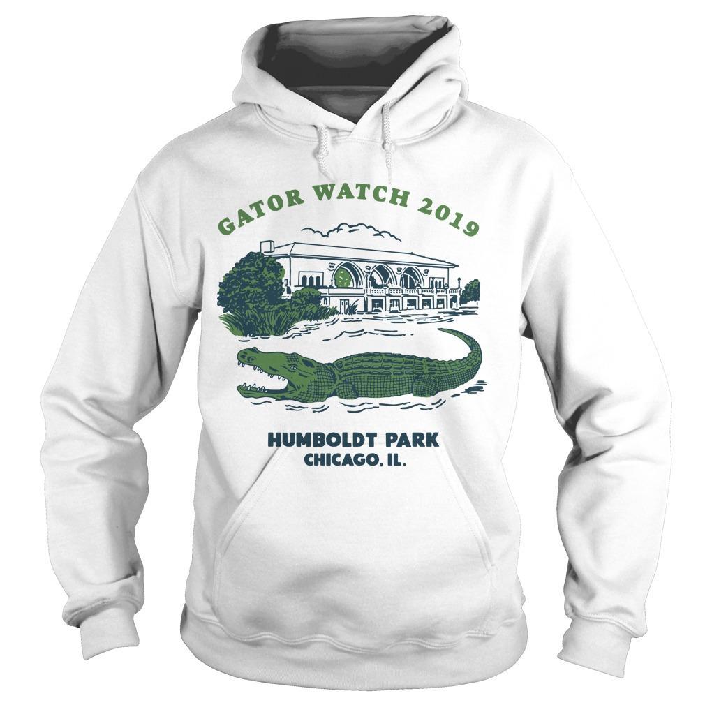 Block Club Chicago Humboldt Park Chicago Il Gator Watch 2019 T Hoodie