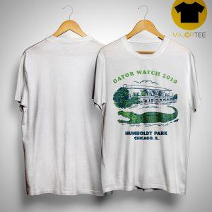 Block Club Chicago Humboldt Park Chicago Il Gator Watch 2019 T Shirt