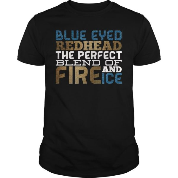 Blue Eyes Redhead The Perfect Blend Of Fire And Ice