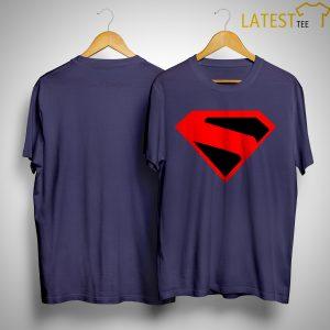 Brandon Routh Kingdom Come Superman Logo Shirt