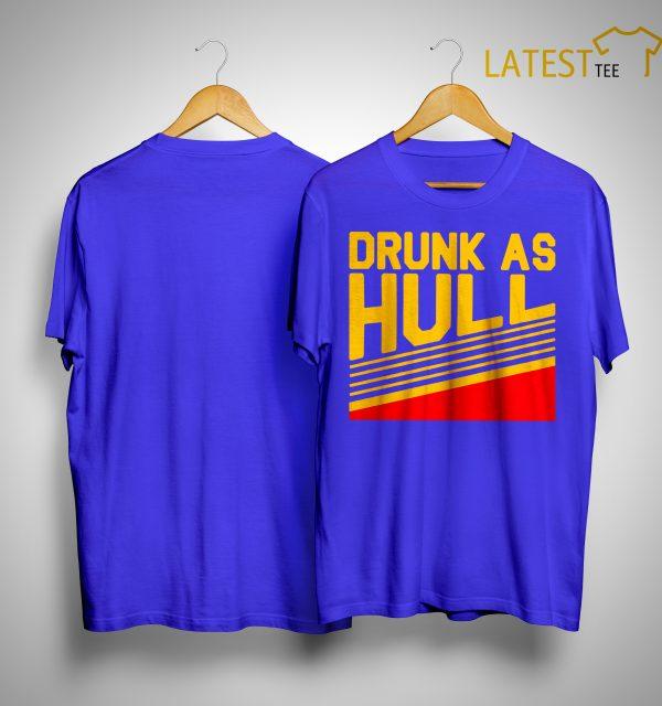 Brett Drunk As Hull T Shirt