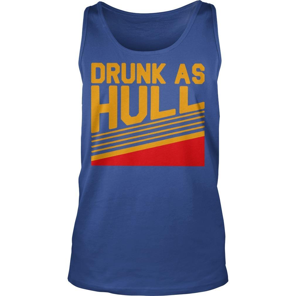 Brett Drunk As Hull T Tank Top