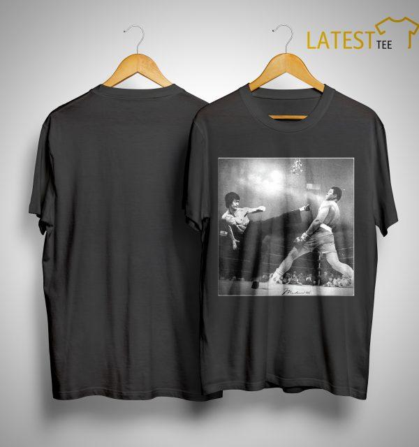 Bruce Lee Kicking Shirt