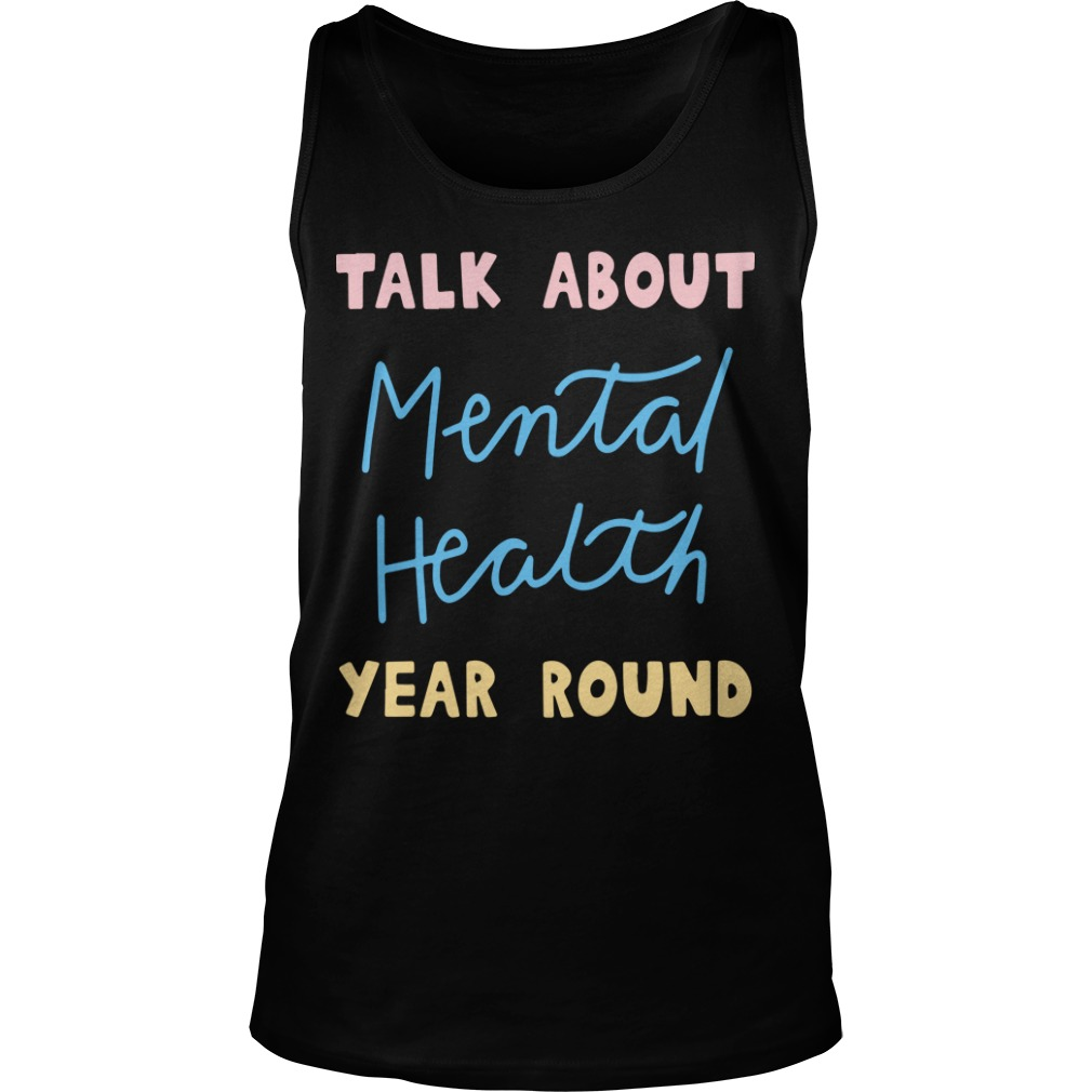 Buddy Project Talk About Mental Health Year Round Tank Top
