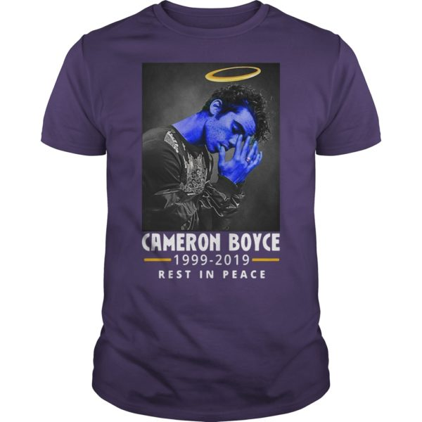 Cameron Boyce 1999 2019 Rest In Peace Shirt