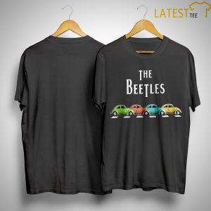 Car The Beetles Shirt