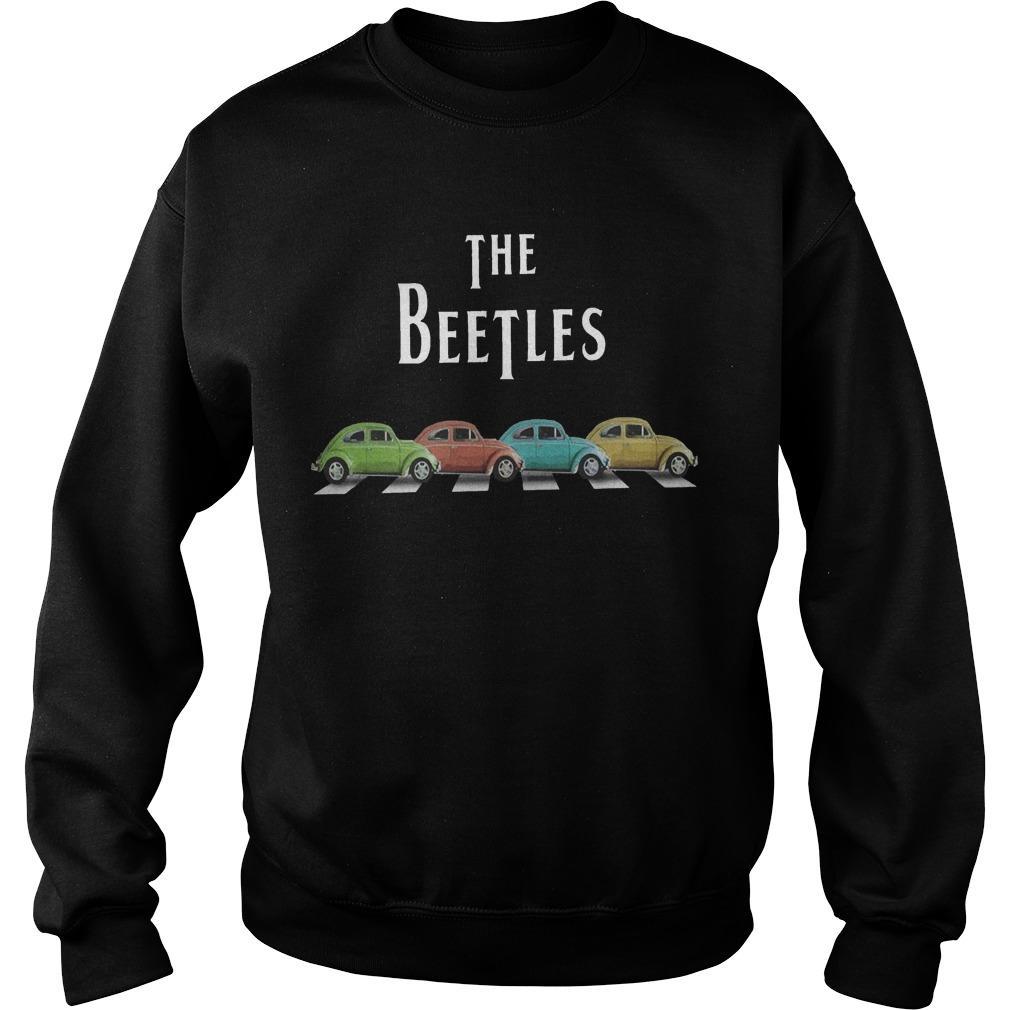 Car The Beetles Sweater