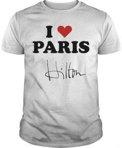Celine Dion I Heart Paris Hilton Shirt