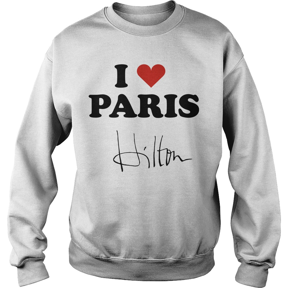Celine Dion I Heart Paris Hilton Sweater