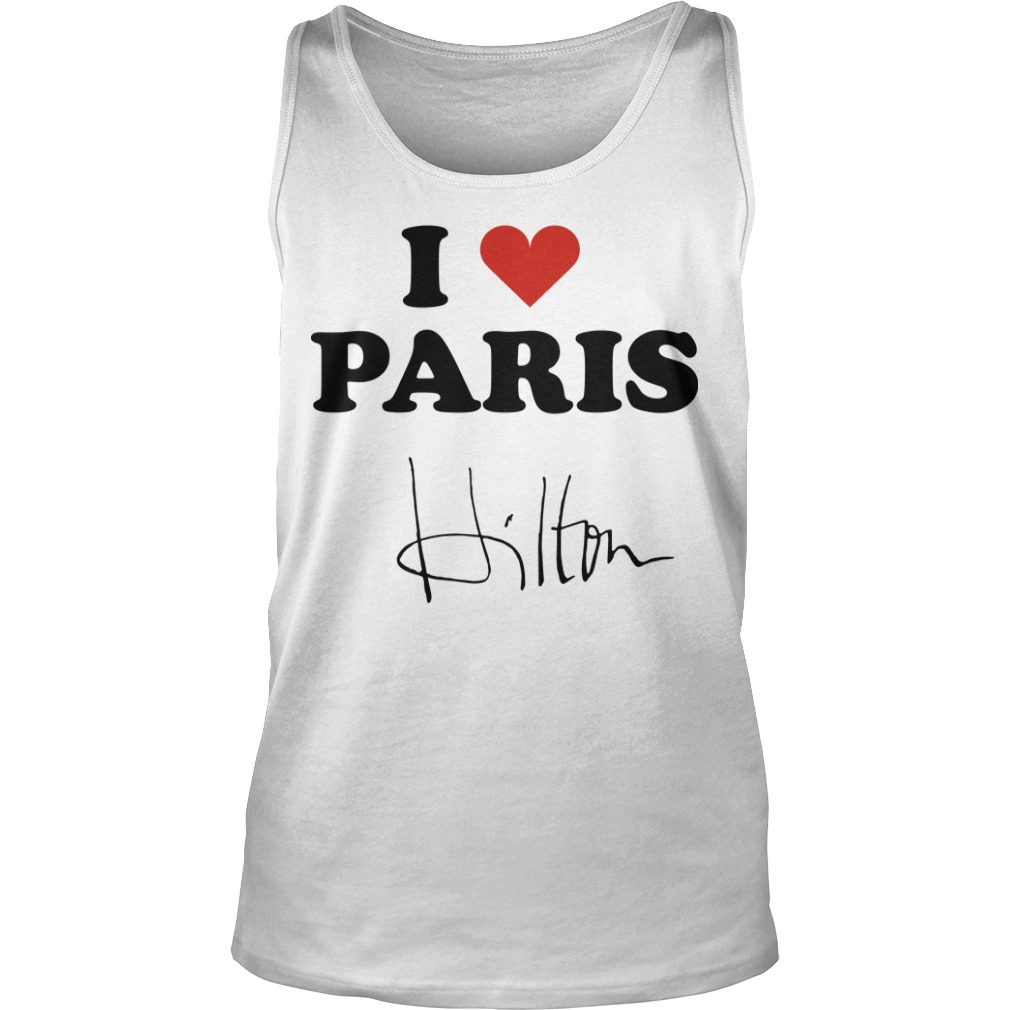 Celine Dion I Heart Paris Hilton Tank Top
