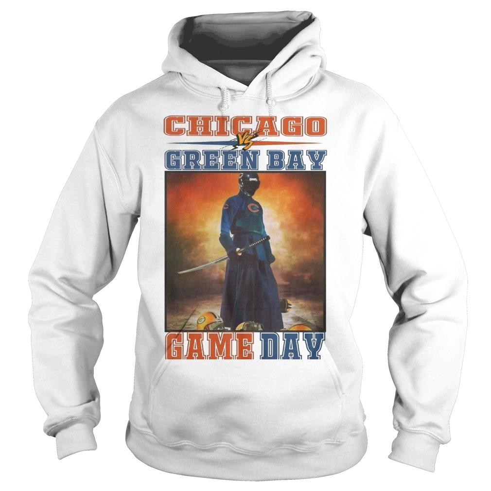 Chicago Vs Green Bay Game Day Hoodie
