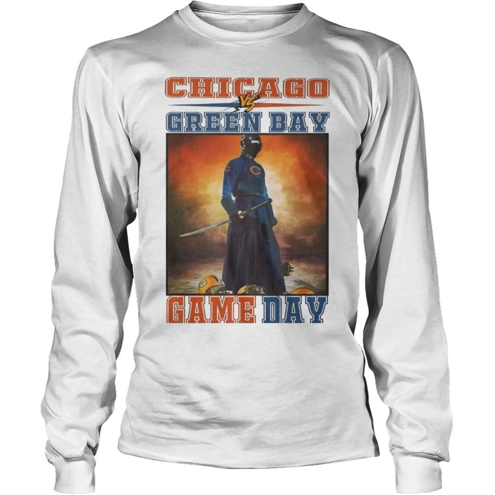 Chicago Vs Green Bay Game Day Longsleeve