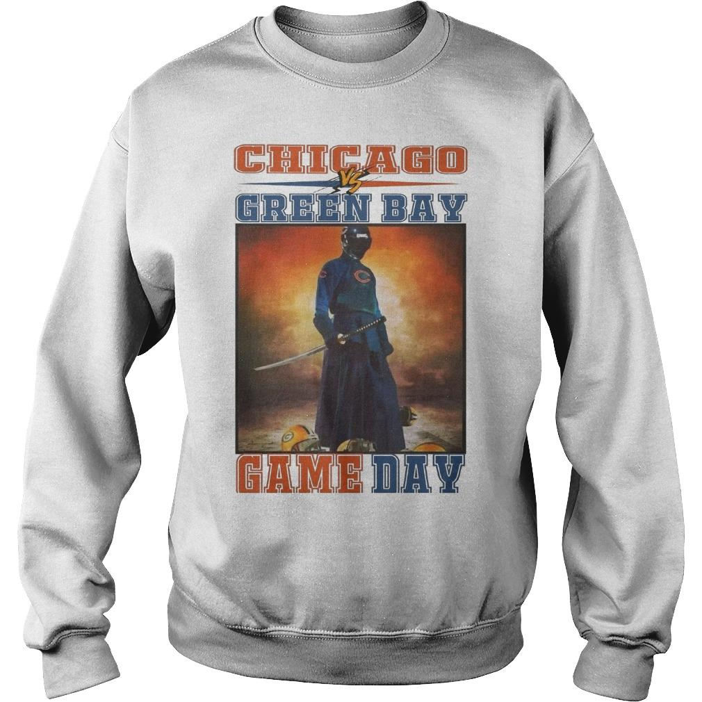 Chicago Vs Green Bay Game Day Sweater