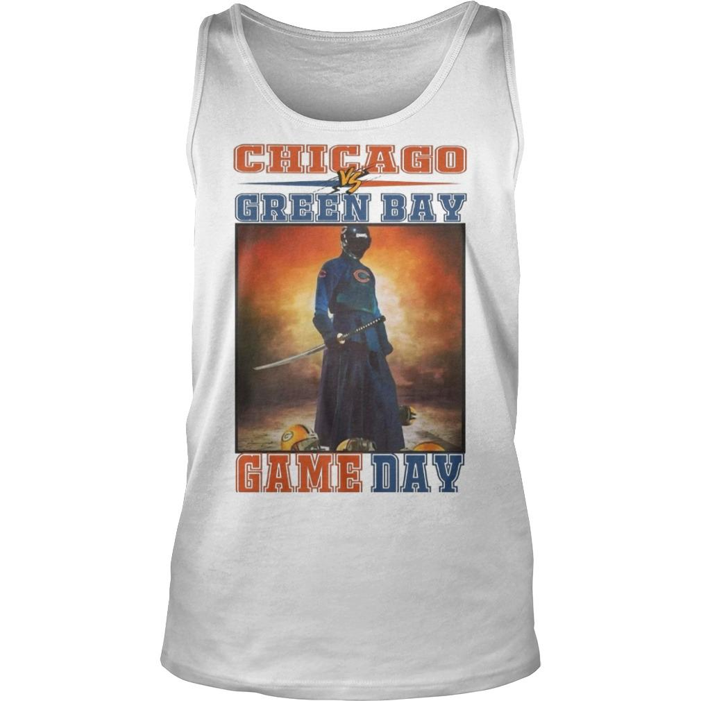 Chicago Vs Green Bay Game Day Tank Top