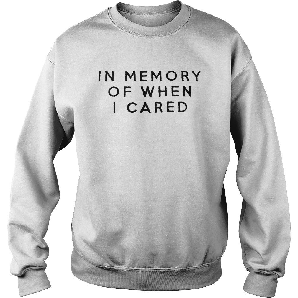 Damion In Memory Of When I Cared Sweater