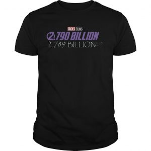 Disney Jacks Film 2790 Billion 2789 Billion Shirt