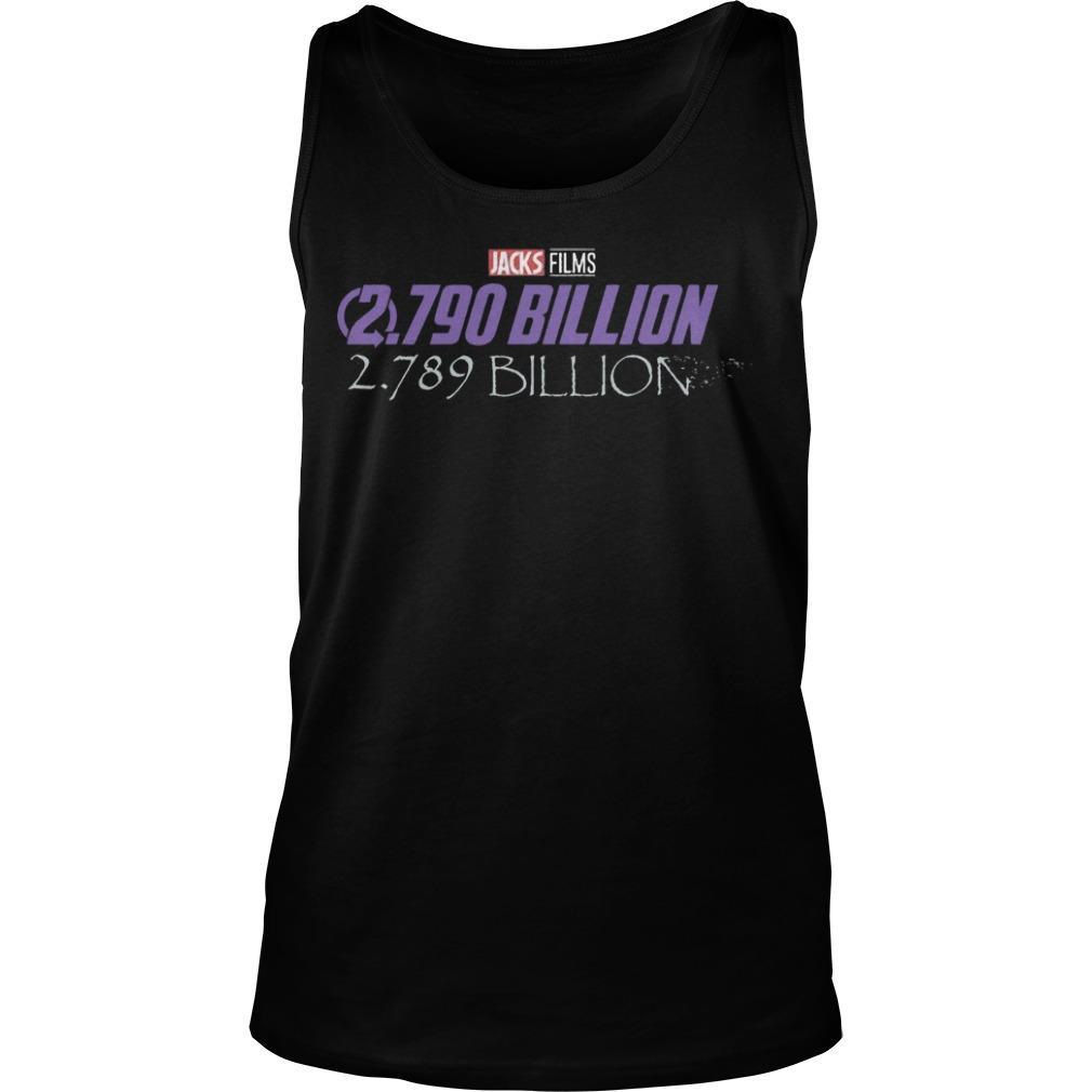 Disney Jacks Film 2790 Billion 2789 Billion Tank Top