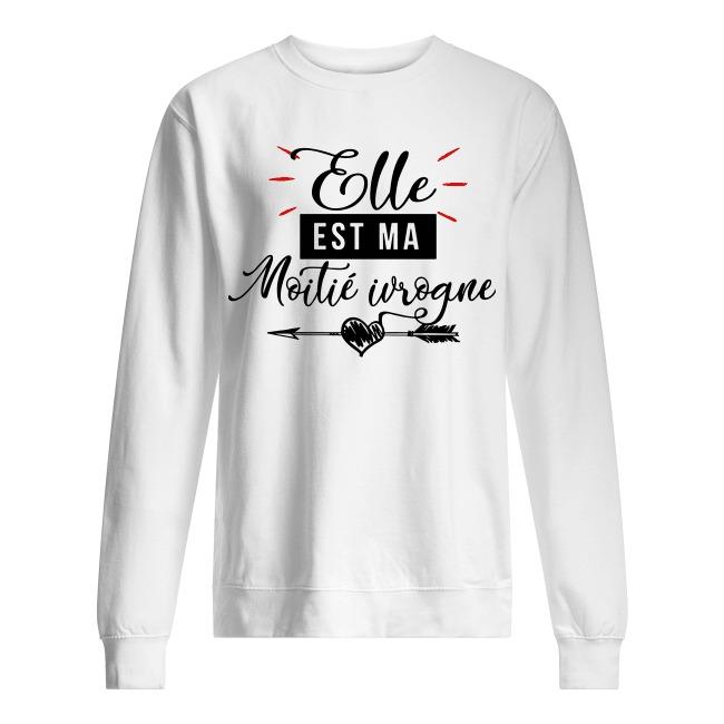 Elle Est Ma Moitié Ivrogne Sweater