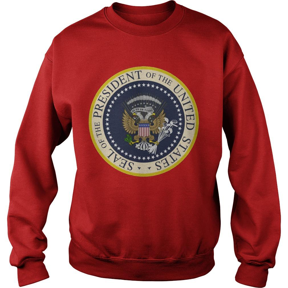 Fake Presidential Seal T Sweater