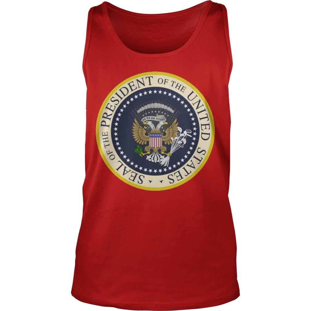 Fake Presidential Seal T Tank Top