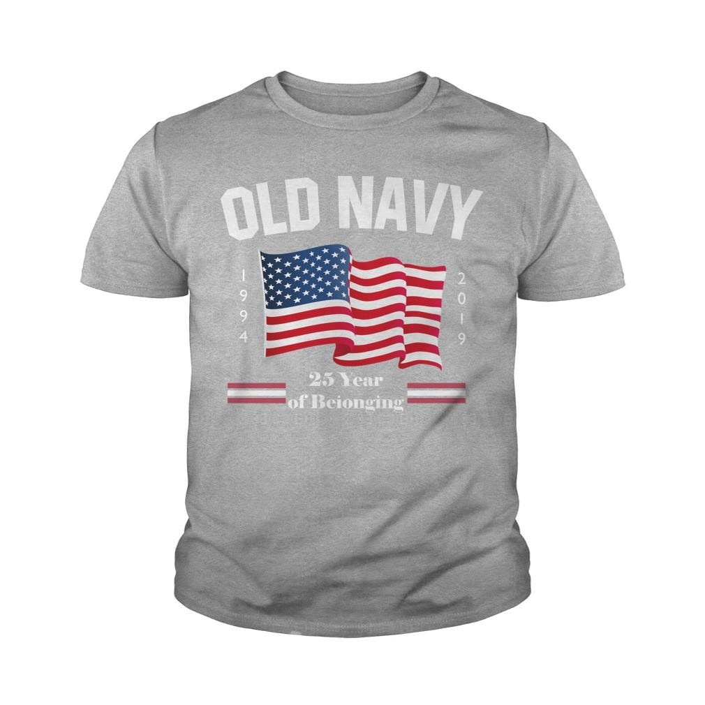Fourth of July Old Navy Purple Youth Tee