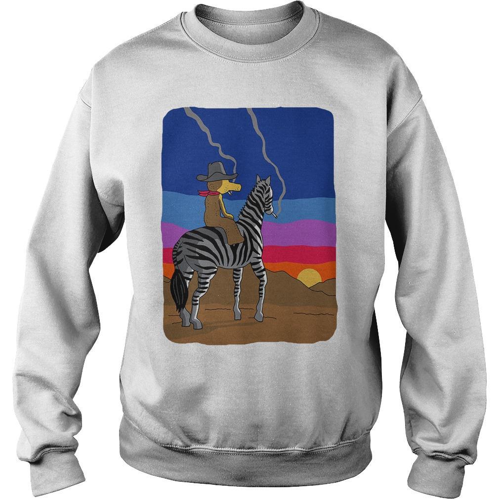 Freddie Gibbs Sr, Quasimoto And Smoking Zebra T Sweater