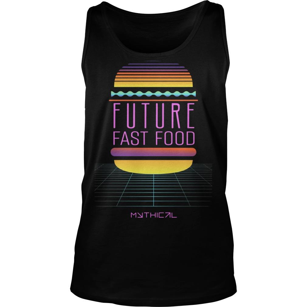 Future Fast Food Tank Top