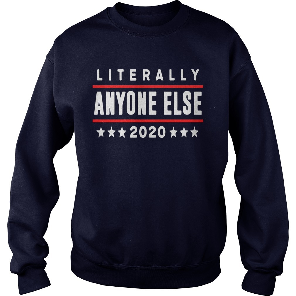 Gary Phillips Literally Anyone Else 2020 Sweater