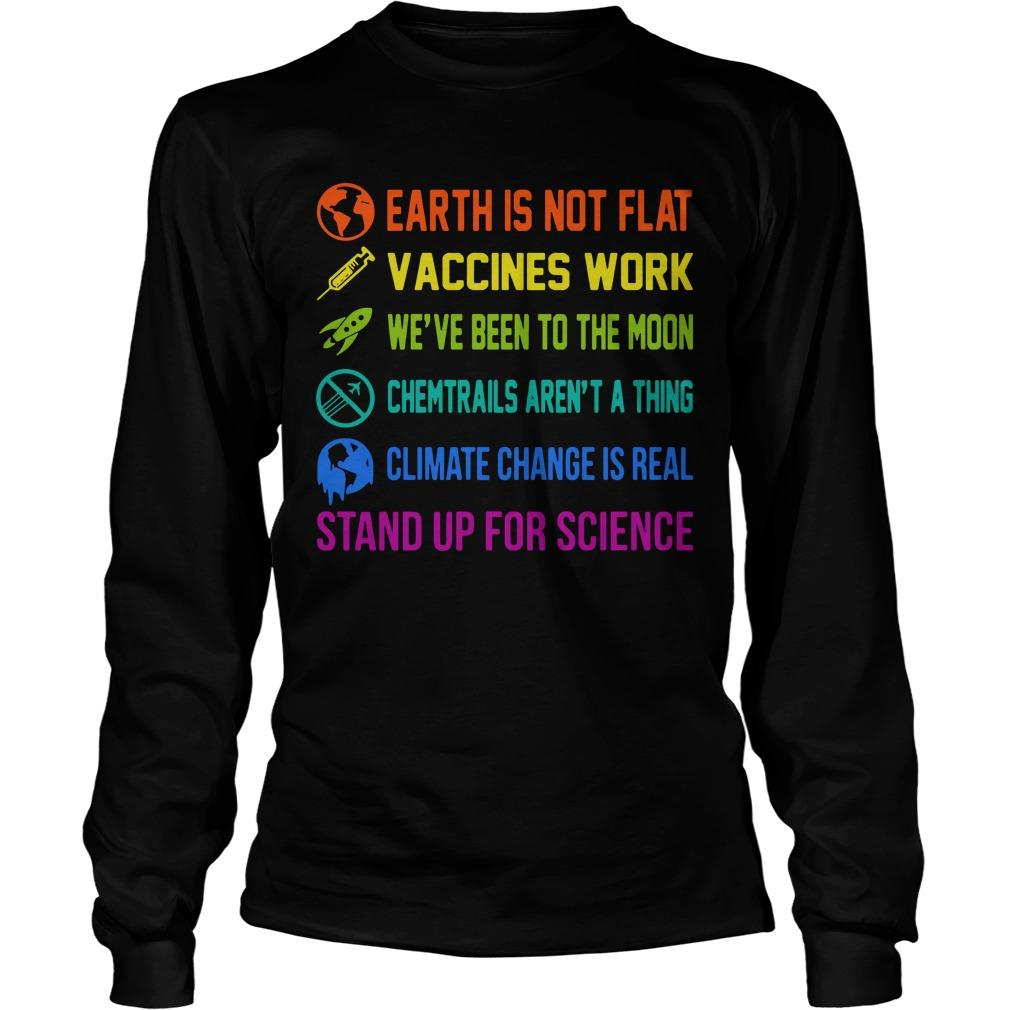 Gentle Bob Stand Up For Science Longsleeve