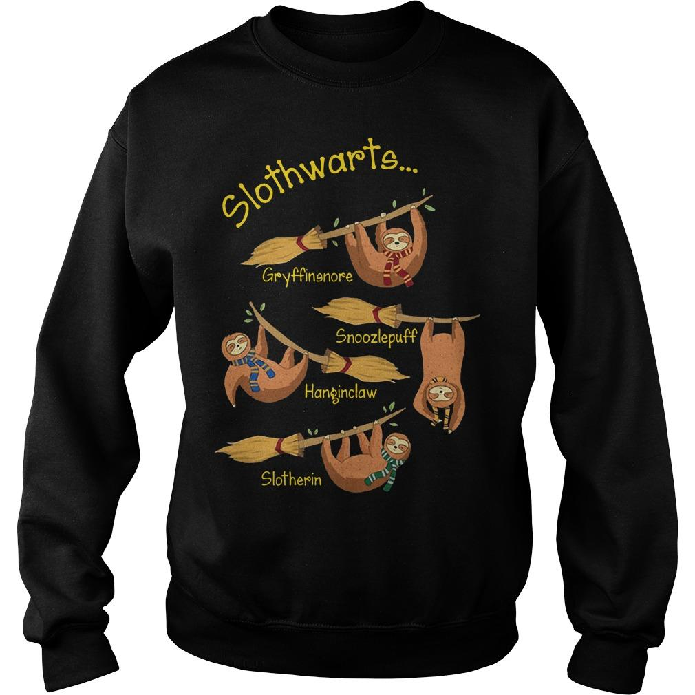 Harry Potter Slothwarts Gryffinsnore Snoozlepuff Hanginclaw Slotherin Sweater
