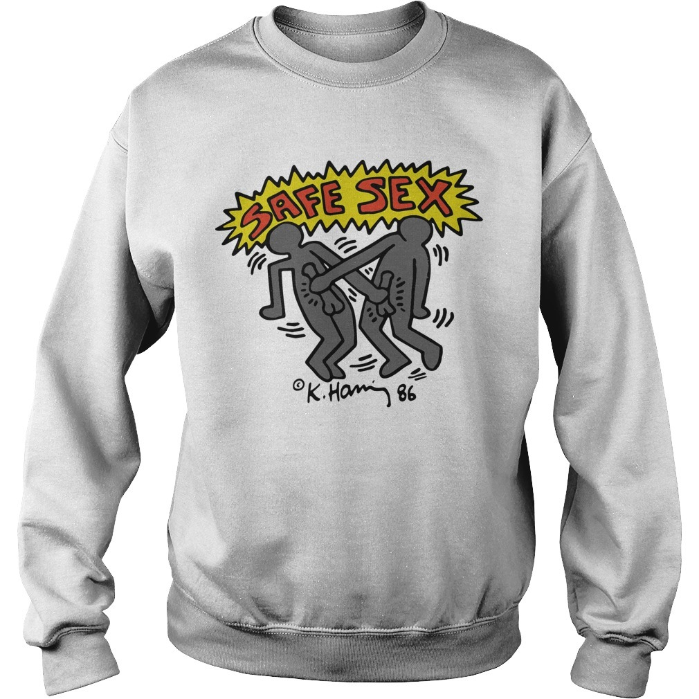 Harry Styles Keith Haring Safe Sex Sweater