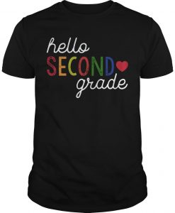 Hello Second Grade Shirt