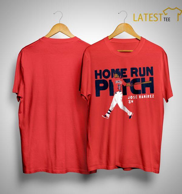 Home Run Pitch José Ramírez Shirt