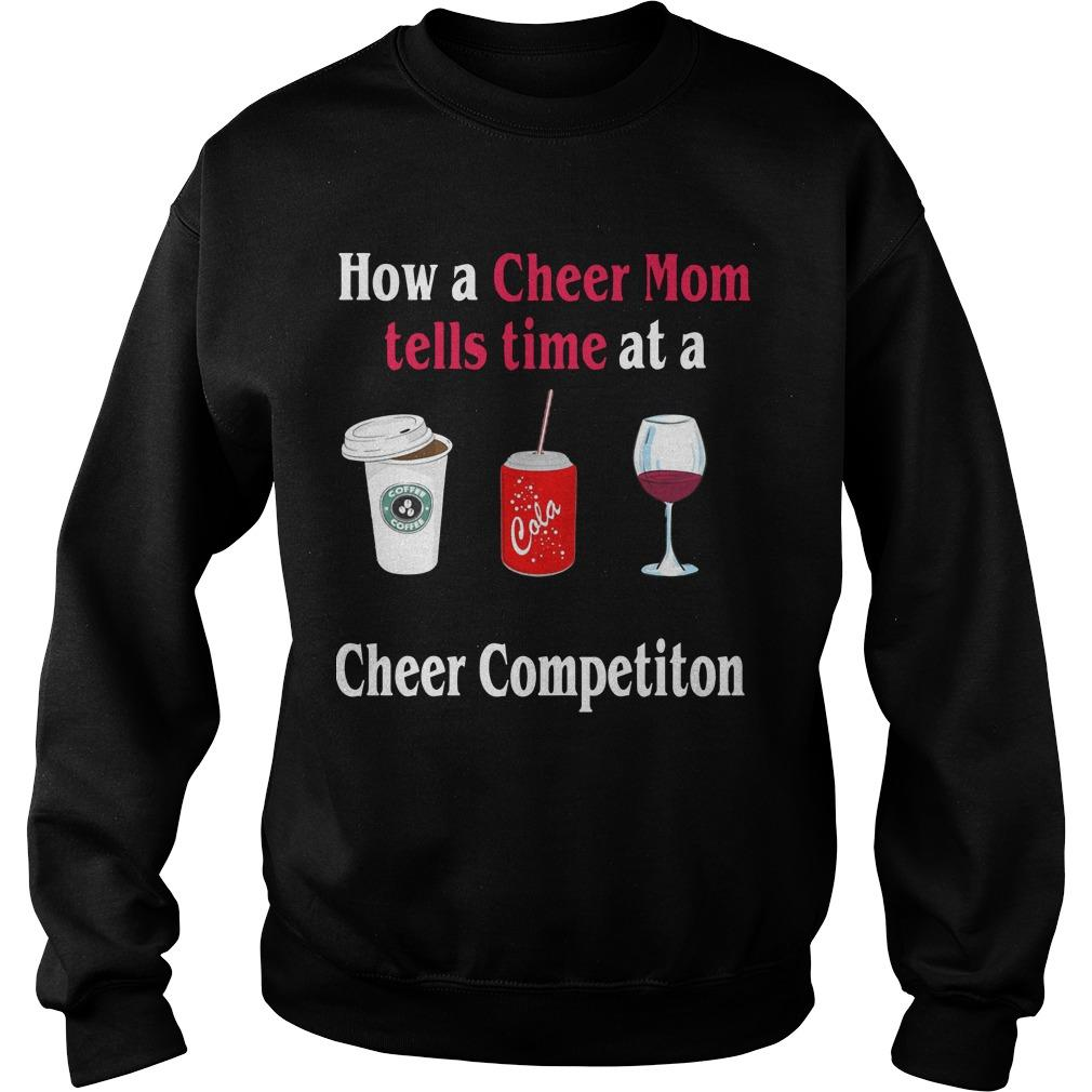 How A Cheer Mom Tells Time At A Cheer Competition Sweater
