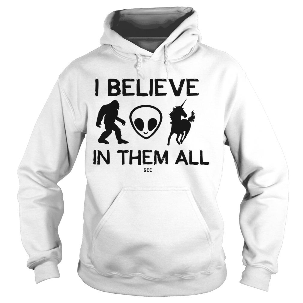 I Believe In Them All Hoodie