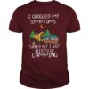 I Googled My Symptoms Turned Out I Just Need To Go Camping Shirt