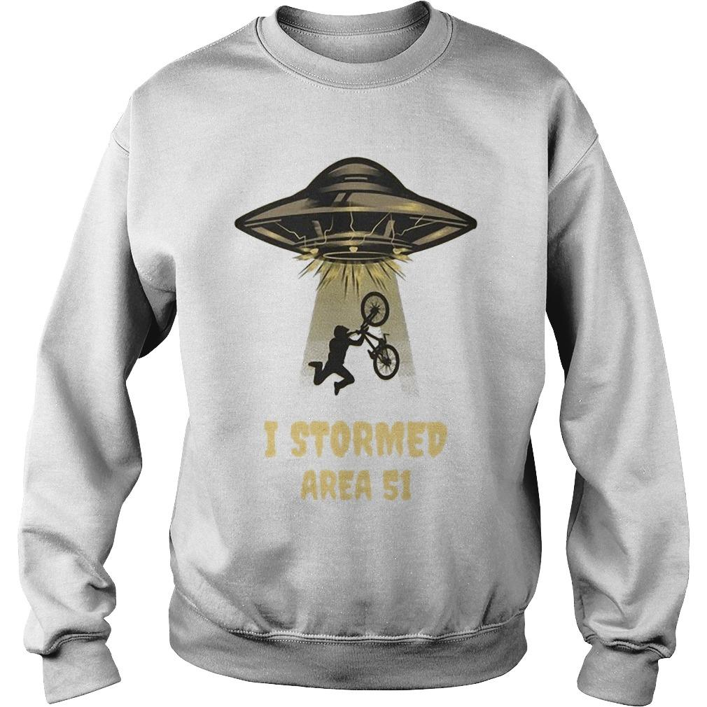 I Stormed Area 51 Sweater