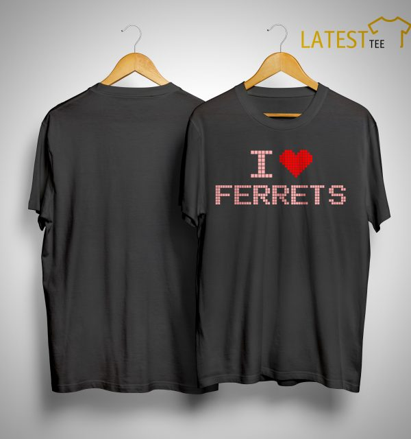 Ilhan Omar I Heart Ferrets Shirt