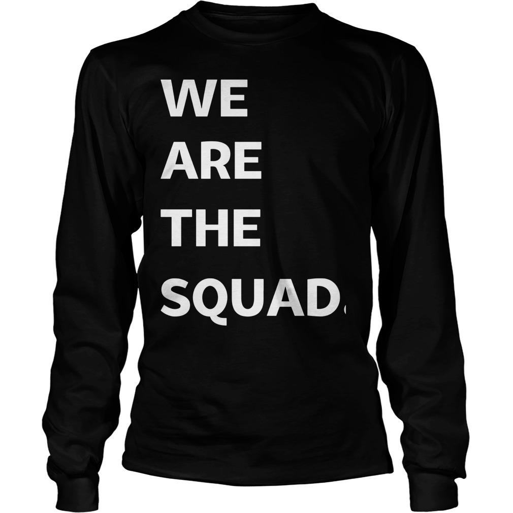 Ilhan Omar We Are The Squad Longsleeve