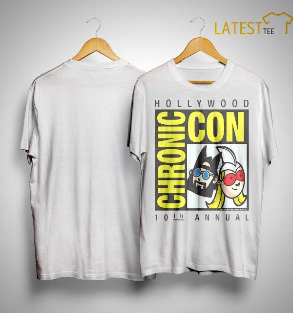 Jay And Silent Bob 10th Annual Hollywood Chronic Con T Shirt