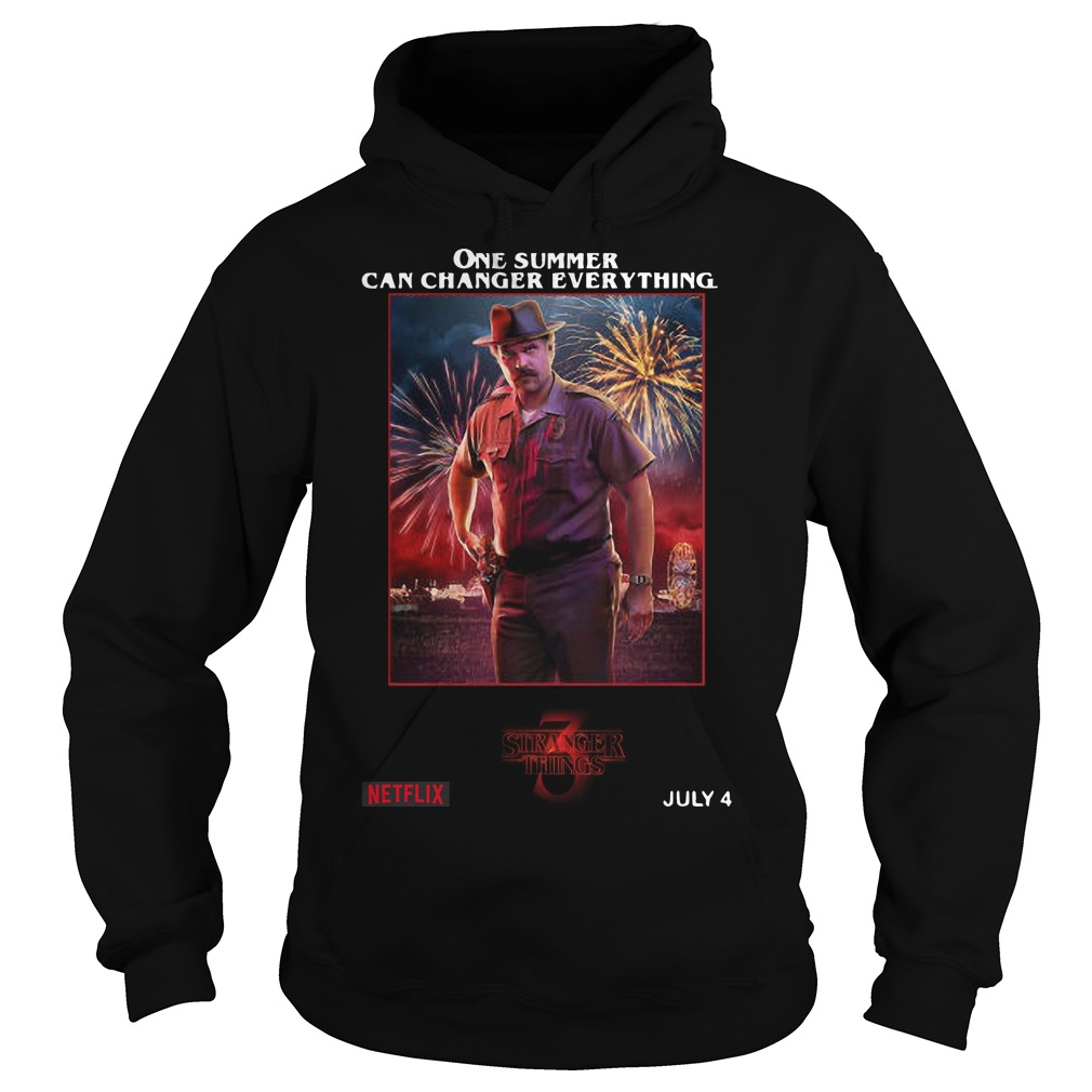 Jim Hopper One Summer Can Change Everything Hoodie