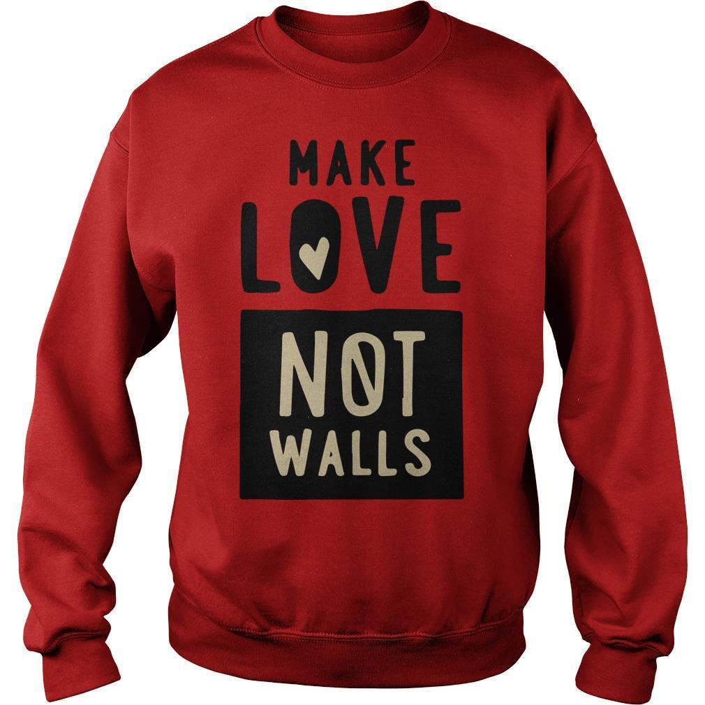 John Pavlovitz Make Love Not Walls Sweater