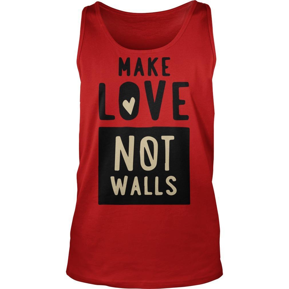John Pavlovitz Make Love Not Walls Tank Top