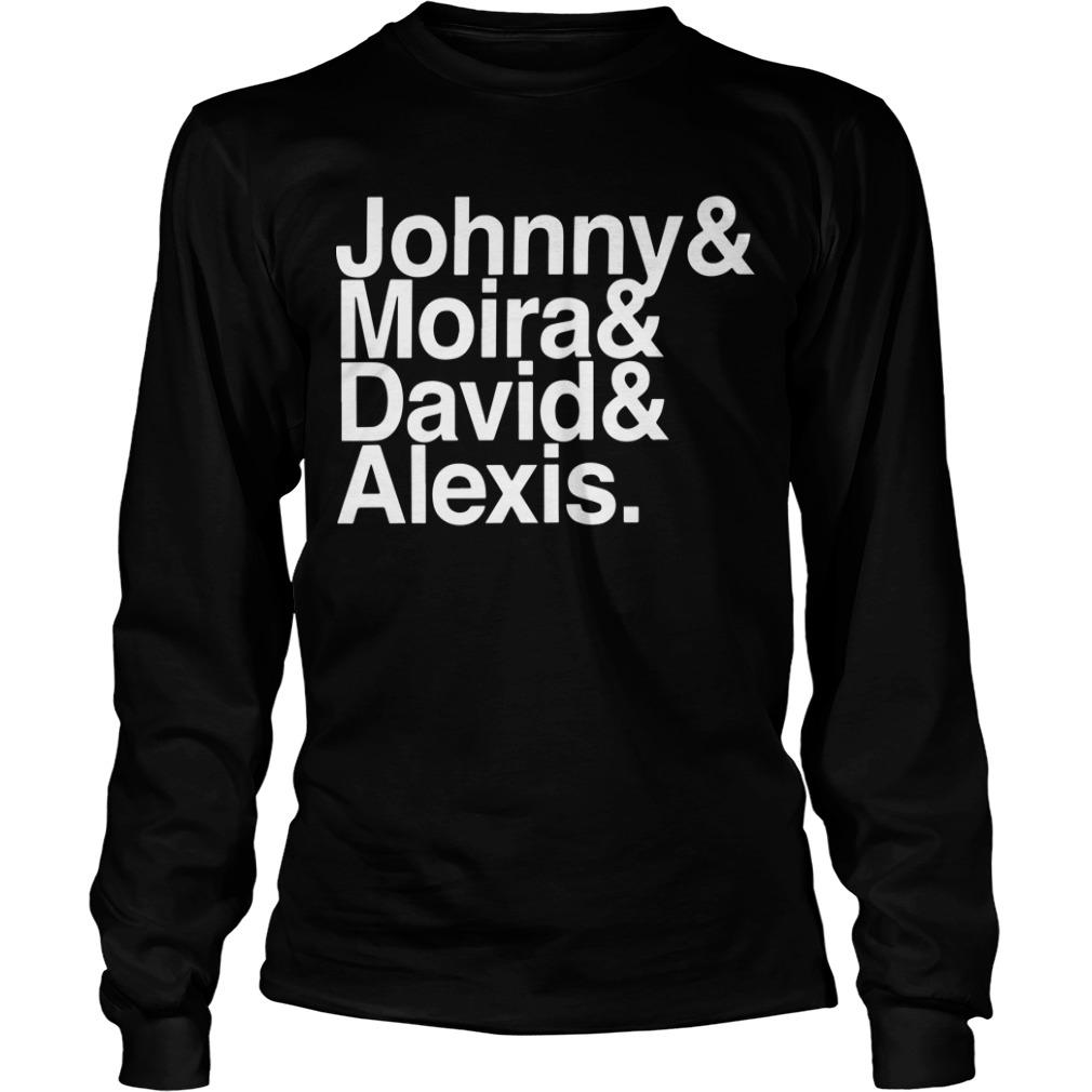 Johny And Moira And David And Alexis Longsleeve
