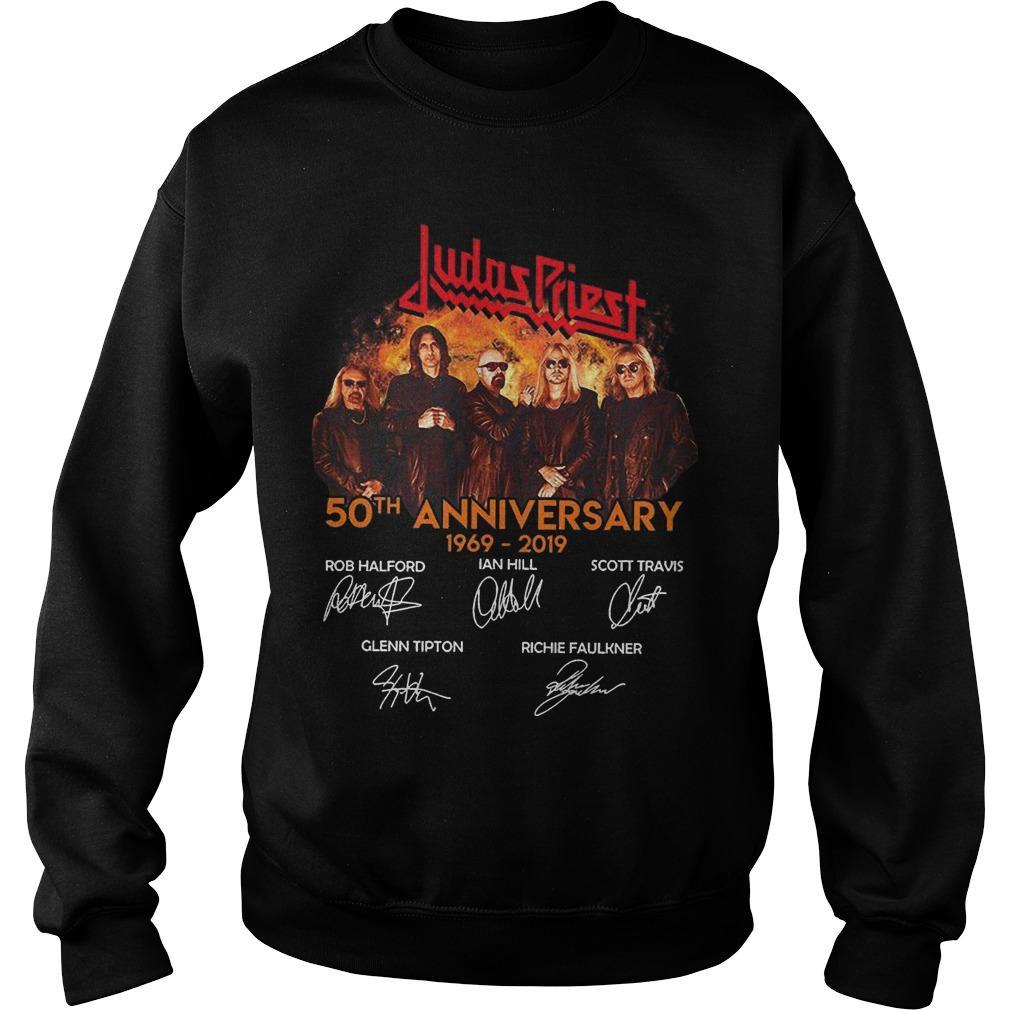 Judas Priest 50th Anniversary 1969 2019 Sweater