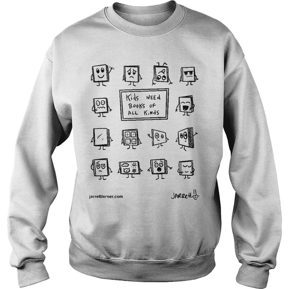Kids Need Books Of All Kinds Sweater