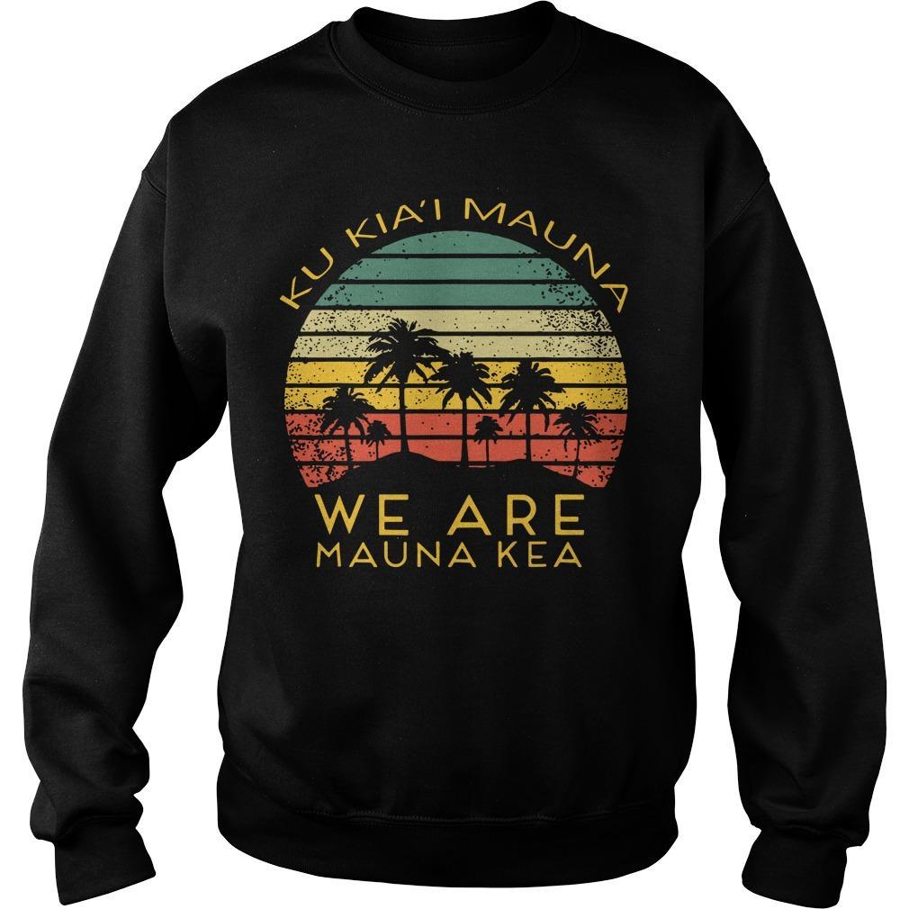 Ku Kiai Mauna We Are Mauna Kea Sweater